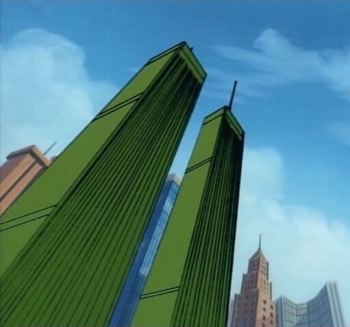 The Twin Towers as seen in 1994's Fantastic Four
