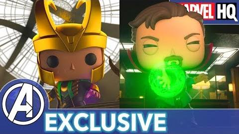Marvel Funko Presents Time to Unwind