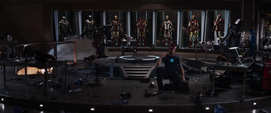 Stark falla en la prueba del Mark 42