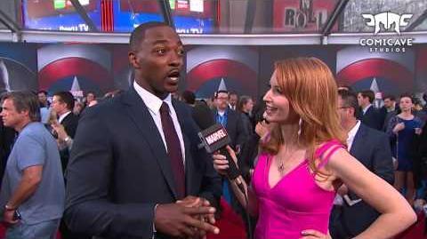 Anthony Mackie Talks Falcon's Landings on Marvel's Captain America Civil War
