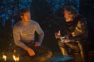Peter y Ego charlando