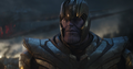 Thanos en las ruinas del Centro de los Nuevos Vengadores