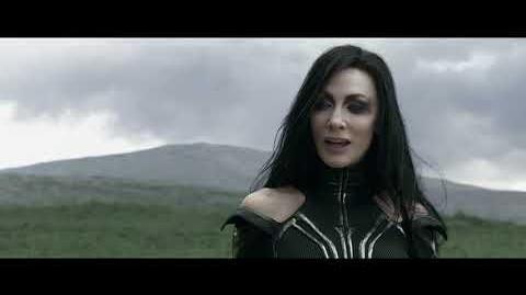 """Thor Ragnarok - """"Kneel Before Your Queen"""" Film Clip"""