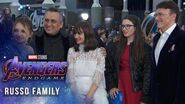 Directors Anthony and Joe Russo on a journey's end LIVE at the Avengers Endgame Premiere