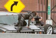 Winter Soldier behind the scenes 5