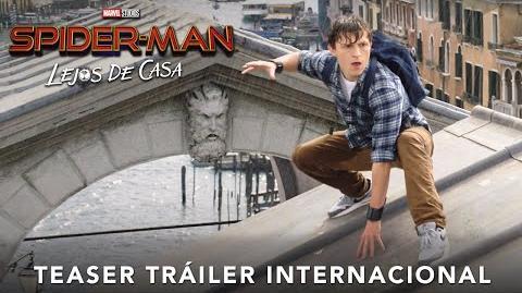 Teaser Tráiler Spider - Man Lejos de Casa