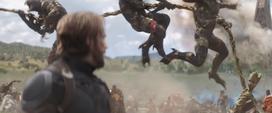 Groot habla con Rogers