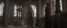 Rocket y Thor se despiden de Frigga