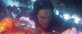 Gamora es atrapada por Ego