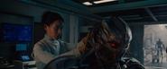 Helen conectando a Ultron
