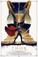 Thor Grey Matter Regular poster