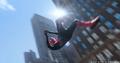 Parker se columpia por la Ciudad de Nueva York