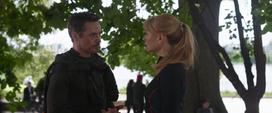 Stark y Potts discuten - IW