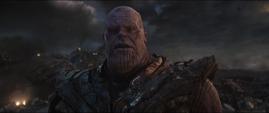 Thanos descubre que sus aliados van a morir