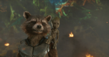 Rocket y Groot hablan con Yondu