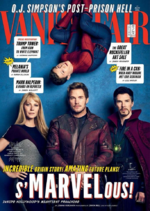 Avengers Infinity War - Portada Vanity Fair 1