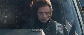Soldado del Invierno en un Quinjet