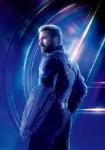 AIW - Póster sin texto de Capitán América