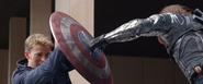 Winter Soldier hits Caps Shield