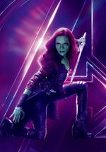 AIW - Póster sin texto de Gamora