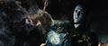 Loki congela a Heimdall