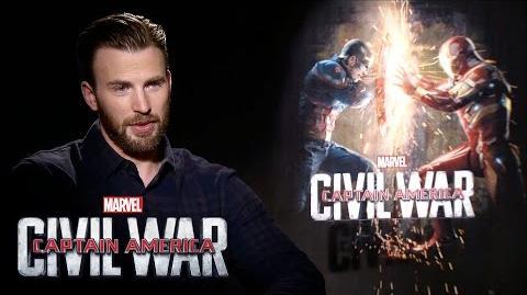 Chris Evans on Marvel's Captain America Civil War