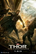 Thor The Dark World Fandral Poster-570x911
