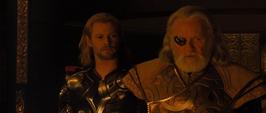 Thor y Odín se reconcilian