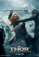 Thor The Dark World Volstagg Poster