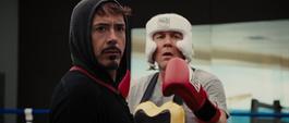 Stark entrena con Hogan