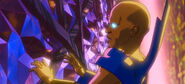 Uatu realizes that he was discovered by Ultron3