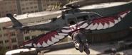 Wilson ataca un helicóptero