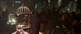 Groot es capturado por los Devastadores