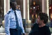 Stark se reúne con Rhodes en su mansión