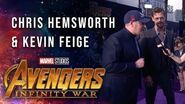 Chris Hemsworth and Kevin Feige Live at the Avengers Infinity War Premiere