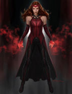 Scarlet Witch suit by Andy Park