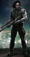 CATWS Winter Soldier concept art 2