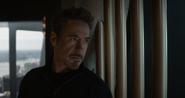 Stark infiltrado en la Torre Stark de 2012