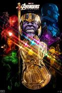 Avengers Endgame Johnaslarona Poster