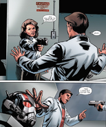 AMP - Carter decide dispararle a Pym