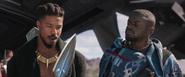 Killmonger & W'Kabi