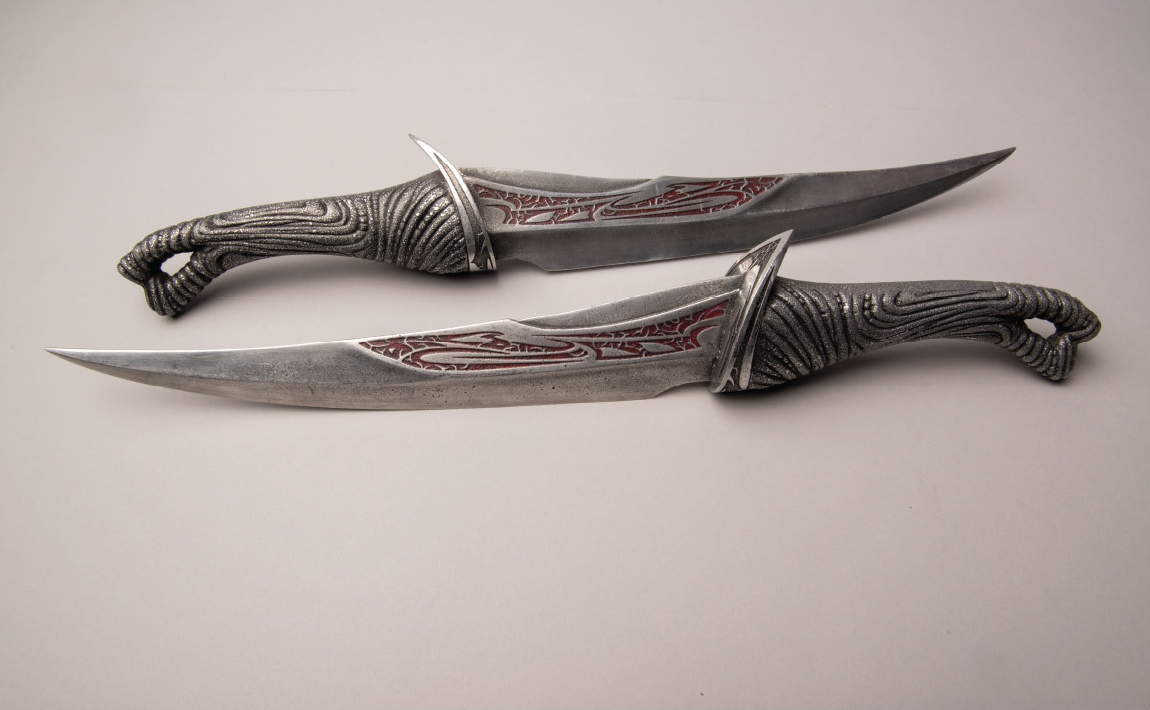 Drax the Destroyer's Knives