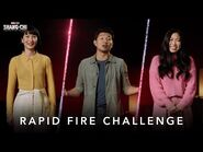 Rapid Fire Challenge - Marvel Studios' Shang-Chi and The Legend of The Ten Rings