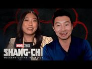How to be a Super Hero with Simu Liu, Awkwafina & Meng'er Zhang - Ask Marvel