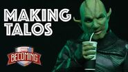 MAKING OF Talos the Skrull Marvel Becoming