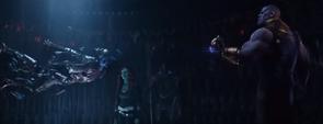 Thanos tortura a Nebula