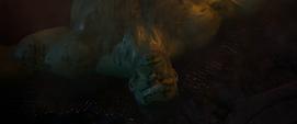 Hulk es vencido por Thanos