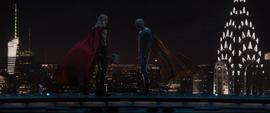 Thor y Visión antes de Sokovia