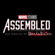 Assembled the making of WandaVision Promotional Image