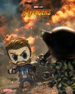 Cap vs Outrider Infinity War Cosbaby